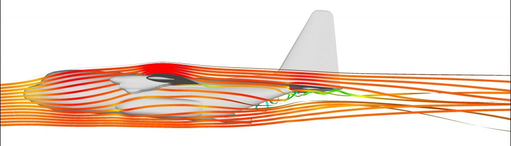 CFD Simulation für Transport Flugzeuge (3)